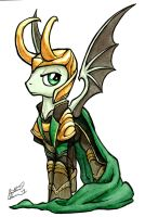 Loki Pony by dracontiar