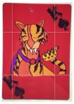 tiger card design by Emzzzer