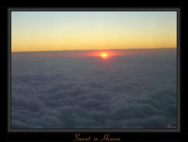 Sunset in Heaven by Thoran