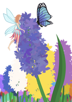Fairy and Hyacinth by Toast1862
