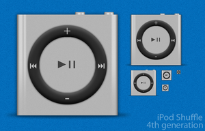 iPod Shuffle 4th Generation by sycamoreent-REMIX
