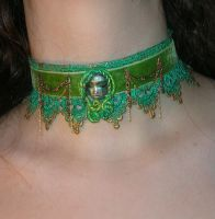 Earth Girl Choker by JuxtaposeGraphics