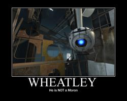 Wheatley Motivational by blueblue930