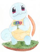 Squirtle by Enuwey