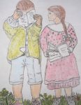 Reading Childs by ingeline-art