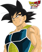 Dragon Ball Z - Bardock Vector by GT4tube