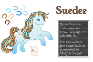 Suedee - Reference Sheet by WayvDesigns