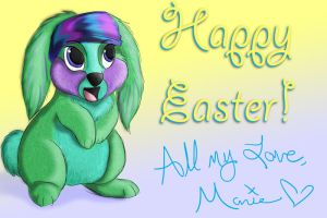 Happy Easter by freelance-kitty