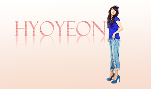 SNSD Hyoyeon Wallpaper by Namine16