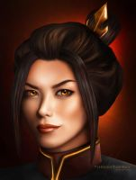 Azula of the Fire Nation by ThreshTheSky