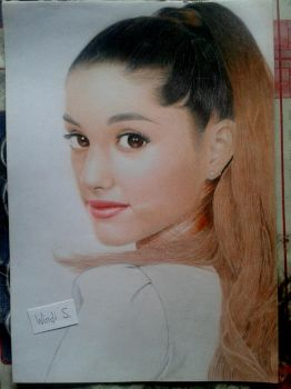 Ariana Grande by WindiSArt