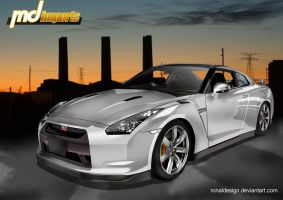 GTR The Legend Continues by ronaldesign