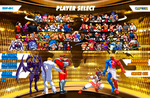 Capcom vs SNK character selection fake (full cast by DieGolosO