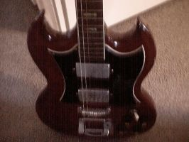 SG Gibson by blink182babie