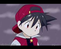 Red sad - Pokemon Special by xXVerdanaXx