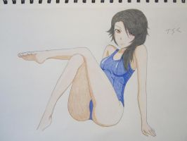 Swimsuit Cinder ! by XxSgtCampbell