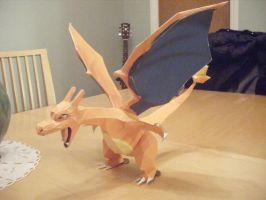 Pokemon: Charizard Papercraft by IrrelevantToAnything