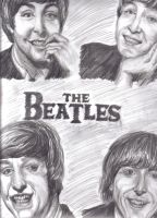 The Beatles by livneeson