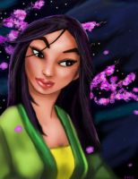 Mulan by oO-Monkey-Oo