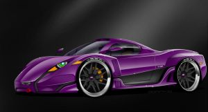 Quimera Hiperion LM-S - Purple by MDominy