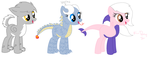 Hybrid Pony Hatched Eggs! by SNlCKERS
