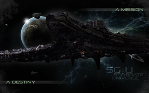 SGU Destiny Wallpaper by romscuderia