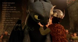 Toothless' Confession by inhonoredglory