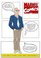 Stan Lee by Le0Rodriguez