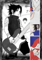 Rock Star Sasuke by JoJoAsakura
