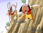 Iktomi and the Little Boy Dove - Leap of Joy by SycrosD4