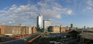 North Manchester Panorama by irwingcommand