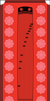 Japanese koto by Squid-pro-Quo