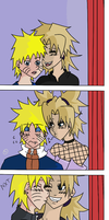 Photobooth Love - coloured by Ookami-Papillon