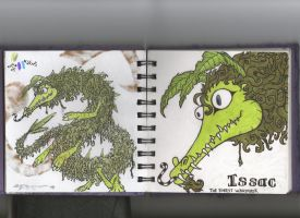 Issac: Forest wandering dragon for adoption closed by MooshuFezrit