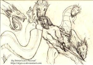 Hercules Versus The Hydra