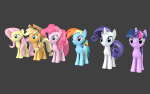 Cheerilee's Gmod Ponies for Blender by pizzalover53