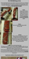 How to Paint Battle Damage on Armor by canius