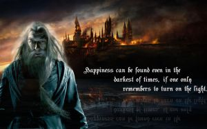 Albus Dumbledore by MissMachineArt