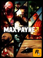 Max Payne 3 - New cover design by SendesCyprus