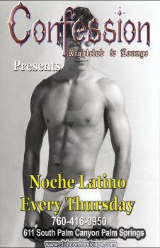 Poster/Ad for Noche Latino night by Lyetur