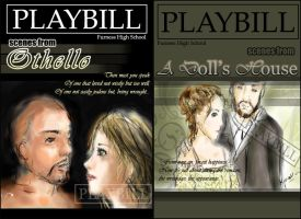 OTHELLO DOLL's HOUSE PLAYBILL by sitao