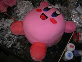 kirby cake 2 by doubleohsquee