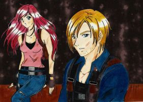 Leon and Claire : China Reunion parte 1 by LeonandClaireBSAA