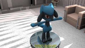 Riolu 3D Model by TheModerator