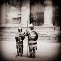 Petra Guards by lostknightkg