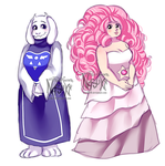 Goat Mom and Space Mom by Nasuki100