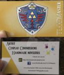 New Business card!!!! by TLOZMaster