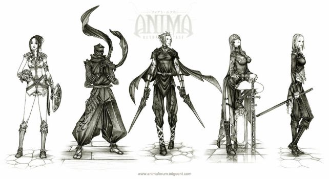 Anima: agents 2 by Wen-M