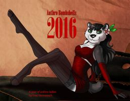 Anthro Bombshells 2016 Calendars are now on sale!! by Ulario