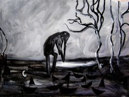 weeping man by glenox66